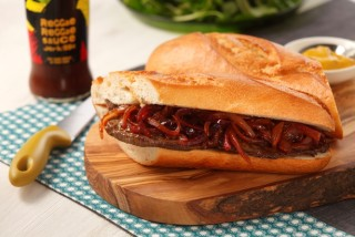 Cooking for Students Levi Roots Sizzling Steak Sandwich