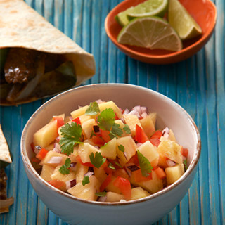 Cooking for Students Levi Roots Pineapple Salsa
