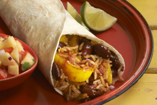 Cooking for Students Levi Roots Reggae Reggae Bean Burrito