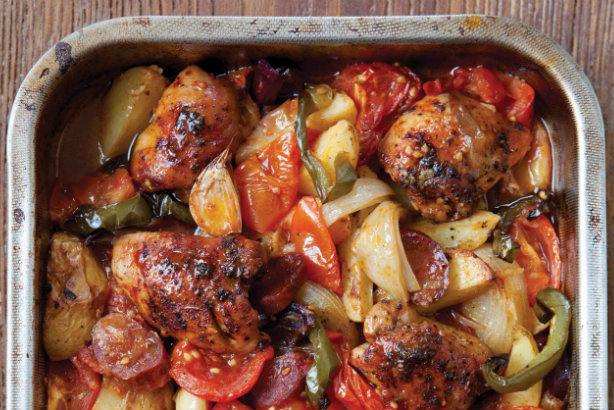 Cooking for Students Hairy Bikers Spanish Style Chicken Bake