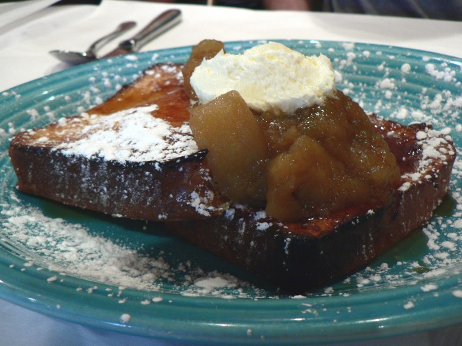 Cooking for Students French Toast with Pear Compote
