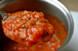 Cooking for Students Tomato Red Pepper Sauce Soup