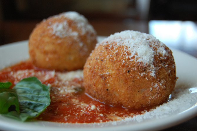 Cooking for Students Arancini