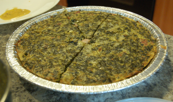 Cooking for Students Cheesy Spinach Pie
