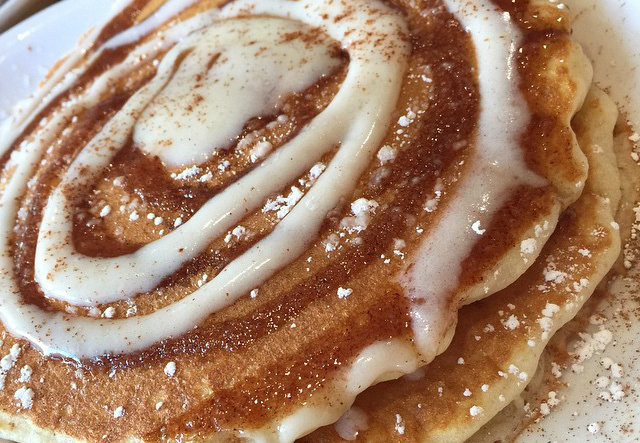 Cooking for Students Cinnamon Swirl Pancakes